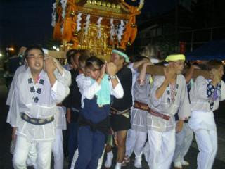 天童夏まつり将棋神輿パレード
