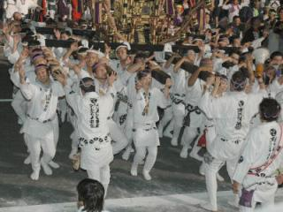 寒河江まつり:第26回神輿の祭典