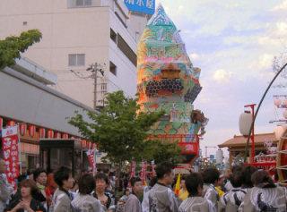 酒田まつり創始400年本年祭の夜祭