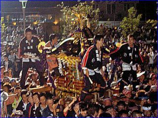 寒河江祭神輿の祭典
