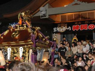 神輿の祭典(寒河江市)
