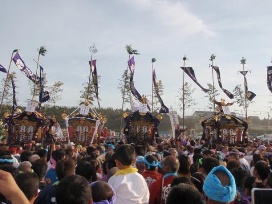 """""""暁の祭典""""浜降祭"""